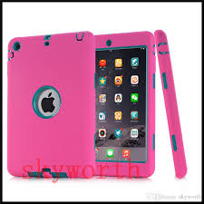 Defender Shockproof Robot Case Military Extreme Heavy Duty Silicone Cover For Ipad Pro 9.7 3 4 5 Air 2 2017 2018 Mini Tablet Pc Cases 8 From