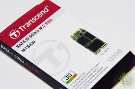 Обзор <b>SSD</b>-<b>накопителя Transcend</b> MTS420 120GB (3D NAND, M.2 ...