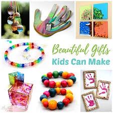 homemade gift ideas kids can make