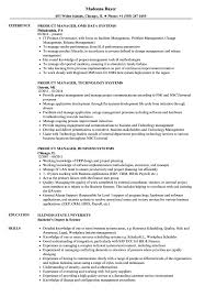 Systems Product Manager Resume Samples Velvet Jobs