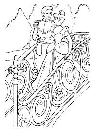Disegno Da Colorare Di Cenerentola E Il Principe Immagini