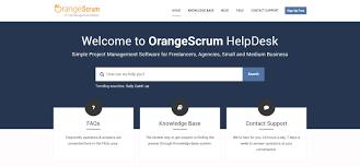 orangescrum new helpdesk get all your project management orangescrum helpdesk