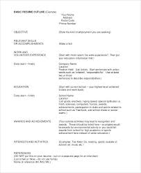awards for resume awards to put on resume on resume example should i put military