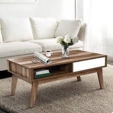 artiss coffee table 2 storage drawers