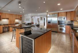 One Wall Kitchens Kitchen Old Fascioned Rustic Kitchen Blue High Ceiling One Wall