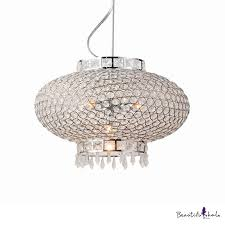 pendant lighting for kitchen island lantern adjule contemporary clear crystal pendant lights in polished chrome with 39 hanging cord