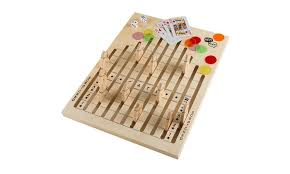 Wooden Horse Race Board Game Wooden Horse Race Game with Dice Cards and Chips Groupon 55