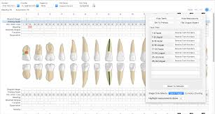 Dental And Periodontal Charting Perio Charting Options Macpractice Helpdesk