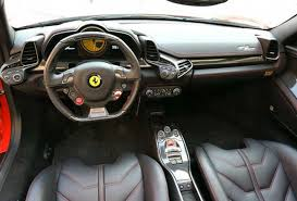 ferrari 458 white interior. interior view of a ferrari spider 458 white r