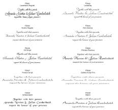 Wedding Invitation Fonts Together With Wedding Invitation Paper