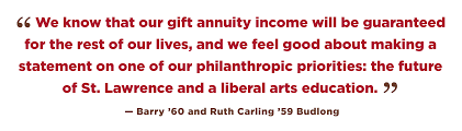 a charitable gift annuity could be right for you if