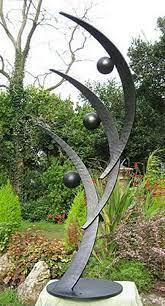 metal sculptures garden