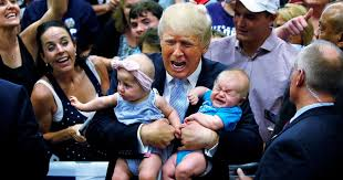 "「""The crying babies doesn't good politically"", Trump」の画像検索結果"