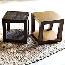 room and board end tables parsons end table brown cube side room and board round bespoke