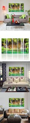 living room 37 art paintings for living room most likeable nature waterfall graphy canvas wall