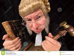 Image result for judge in wig pictures