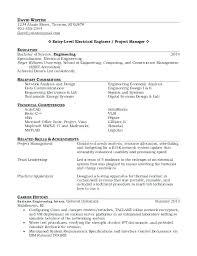 Entry Level Mechanical Engineering Resume Inspiration 48 Entry Level Electrical Engineering Resume Hospedagemdesites48