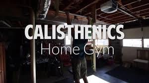 calisthenics home gym equipment