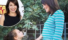 Marla Sokoloff is expecting her second child with husband Alec Puro   Daily  Mail Online