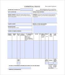 Commercial Invoice Sample Fresh Design 30 Commercial Invoice ...
