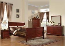 bordeaux louis philippe style bedroom furniture collection. Plain Bordeaux Louis Philippe Cherry 4 Pc Bedroom Set Queen King Full Twin Bed Home  Furniture Inside Bordeaux Style Collection U