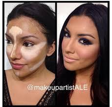 contour makeup yikes looks hard to do