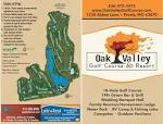 Scorecard - Oak Valley Golf Course and Resort