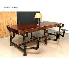 vintage office supplies desk accessories american pipe furniture golden years series creative pipeline solid wood