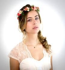 Couronne De Fleurs Mariage Boheme Dans Couronne De Fleurs
