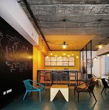 industrial office design. Industrial Office Design A World Of Color And Creative Modern In