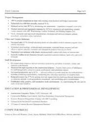 Management Consulting Resume Keywords Example Good Resume Template
