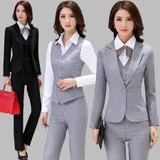 slim fit business suit vest las suit bank ktv hotel front desk interview studio work uniforms autumn
