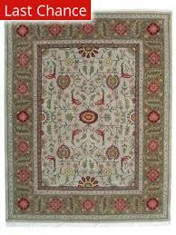 org handtufted oushak pale taupe area rug