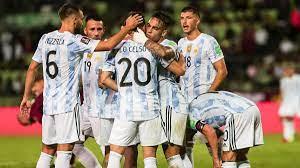 الأرجنتين تفوز على 10 لاعبين فنزويلا 3-1، لكن لا يوجد اسم ميسي على لوحة