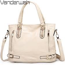 2019 white bag soft leather luxury handbags women bags designer handbags high quality las hand bags casual tote sac a main