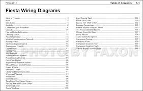 2011 ford fiesta wiring diagram manual original electrical click for image 1