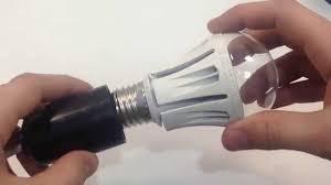 <b>Светодиодная лампа</b> для растений <b>Uniel</b> 9W E27 - YouTube