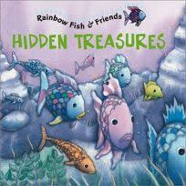 hidden treres rainbow fish friends with 2 pages of stickers this book