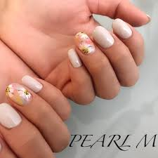 春入学式オフィス女子会ハンド Nailsalon Pearl Mネイルサロン