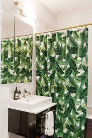 12 beautiful shower curtains for every budget palm shower curtain