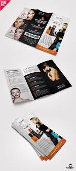 brochure brochure beauty salon trifold brochure psd uxfree com