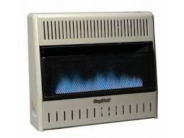 procom ventless gas blue flame wall heater 20 000 btu