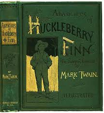 mark twain s adventures of huckleberry finn as a ebook  826px huckleberry finn book ""