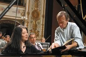 <b>Martha Argerich</b> & <b>Claudio</b> Abbado - © Marco Caselli Nirmal ...