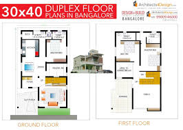 30x40 duplex floor plans in bangalore 1200 sq ft floor plans al duplex house plans 30x40
