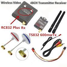 fpv 5 8g 5 8ghz 600mw wireless av audio video 48ch rc transmitter tx Wireless Transmitter at Ts832 Transmitter Wiring Diagram