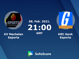 KV Mechelen Esports – KRC Genk Esports - Live score