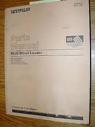 cat caterpillar g936 parts manual book catalog wheel loader 4nd1 cat caterpillar 962g parts manual book catalog wheel loader 3bs1 up 3126 eng