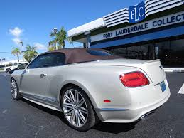 2014 Used Bentley Continental GT Speed Convertible at Fort ...