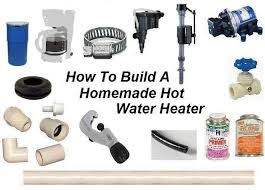 picture of how to build a homemade water heater